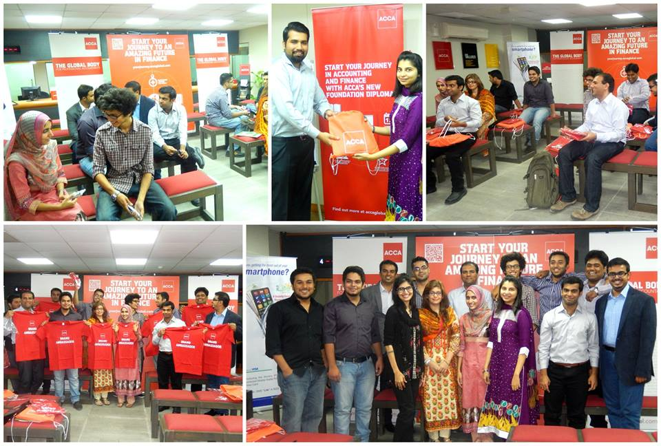 ACCA Pakistan welcomes their student ambassador program members 2014-15