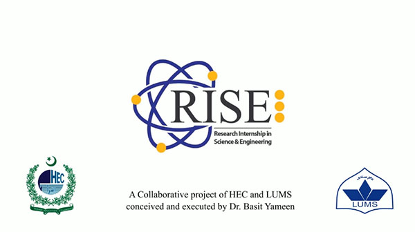 Research Internship in Science and Engineering (RISE)